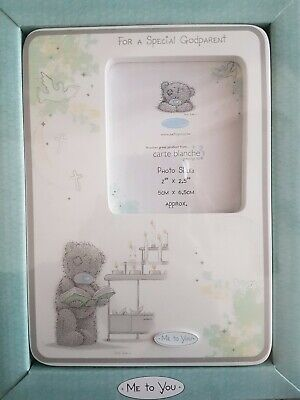£1.50 • Buy Bnib For A Special Godparent Photo Frame Me To You Christening Gift