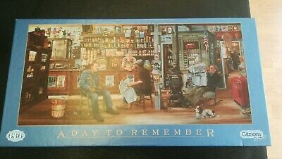 £5 • Buy  A Day To Remember  Gibsons 636 Piece Jigsaw Puzzle. (Les Ray) G610