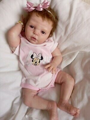 £130 • Buy  Reborn Doll With Beautiful  Rooted Hair .