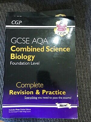£1 • Buy Cgp Gcse Revision Books Combined Science Biology