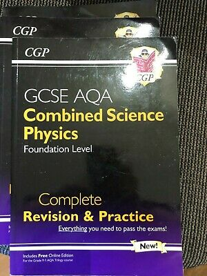 £1 • Buy CGP GCSE AQA Combined Science Complete Revision And Practice