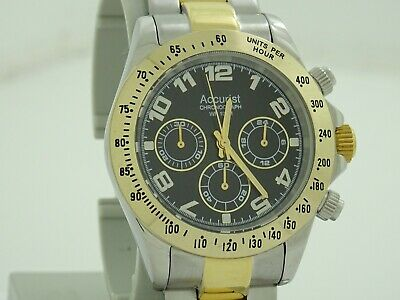 £10.50 • Buy Mens Accurist Chronograph Watch MB981B