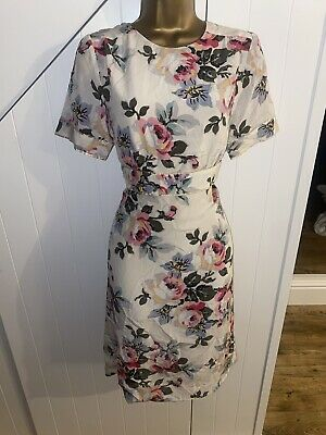 £10 • Buy Womens Gorgeous Flower Party Summer Dress Size 14 By Monsoon