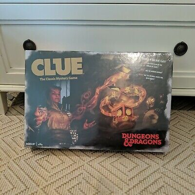 AU49.26 • Buy Clue Dungeons & Dragons: Special D&D Edition 2019 Board Game - Brand New
