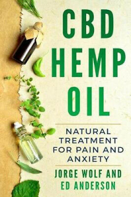AU27.42 • Buy CBD Hemp Oil: Natural Treatment For Pain And Anxiety By Ed Anderson