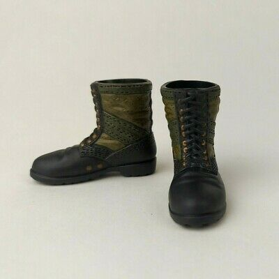 £6.59 • Buy 21st Century 1/6 Scale Military Vietnam War Two Tone Boots For Most 12  Figures