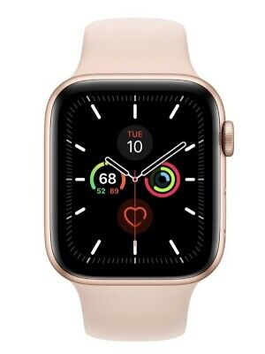 AU243 • Buy Apple Watch Series 5 44 Mm GPS + Cellular Gold Aluminium Case Pink Sand Band