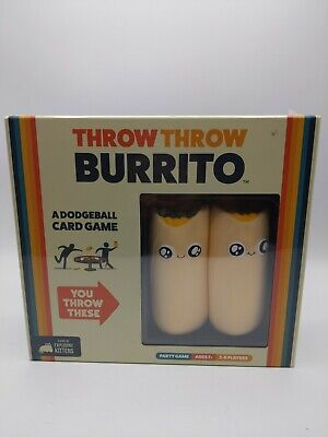 AU27.30 • Buy Throw Throw Burrito By Exploding Kittens A Dodgeball Card Game Brand New