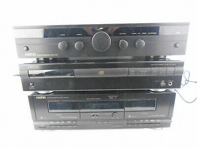 £49.99 • Buy Ariston Hi-Fi Separates *Untested* CD Player Double Cassette Player And Amp
