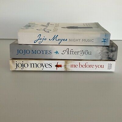AU24 • Buy Jojo Moyes: Me Before You; After You; Night Music (Paperbacks)