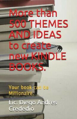 AU18.30 • Buy More Than 500 Themes And Ideas To Create New Kindle Books.: Your Book Can Be