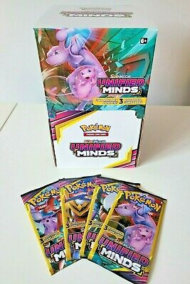 $149.95 • Buy Pokemon Unified Minds Dollar Tree Booster Box 96 3-Card Packs Factory Sealed