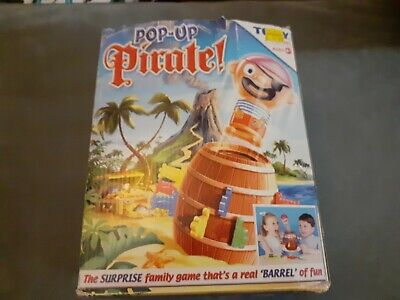 £4.50 • Buy TOMY Pop-Up Pirate! Action Board Game Toy With Base