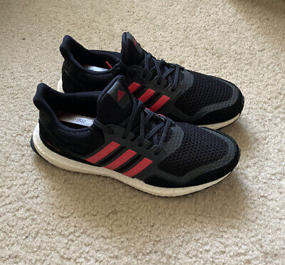 AU68.66 • Buy Adidas Ultraboost S&L Womens Running Shoes Size 7.5 Black/Red/White (EG8119)