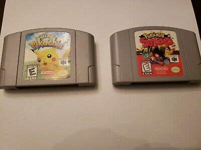 $15.50 • Buy Pokemon Snap, Hey You, Pikachui N64 Nintendo 64 Authentic, Tested, 2 Game Lot