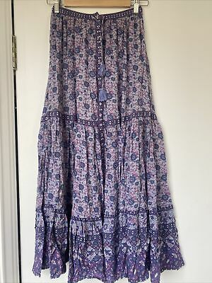 AU190 • Buy Spell And The Gypsy Collective - Kombi Maxi Skirt Size S
