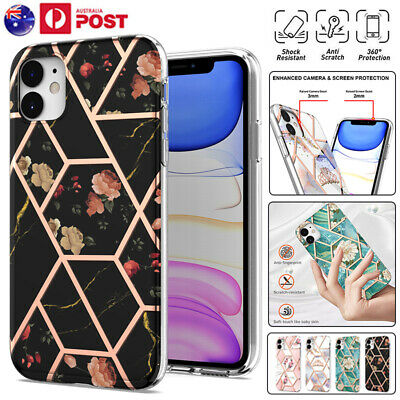 AU11.99 • Buy For IPhone 13 12 Mini 11 Pro Max XR XS X 8/7 Plus Marble Shockproof Case Cover