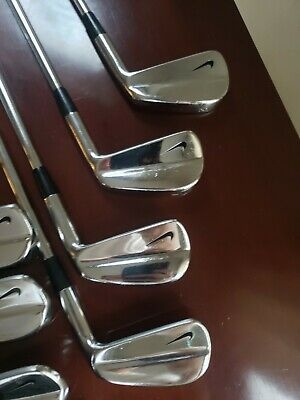 AU561.07 • Buy Nike Tour Muscle Back Blades Tiger Woods Golf Clubs Irons