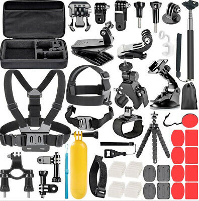 AU1.35 • Buy  GoPro Accessories Set For Go Pro Hero 8 7 6 5 4 Black Mount For Xiao Yi 4k
