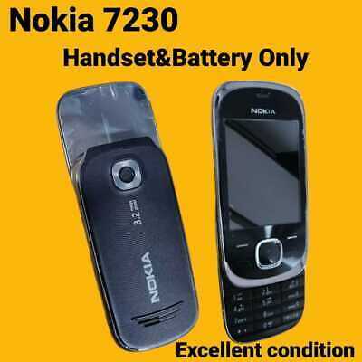 £19.99 • Buy Nokia Slide 7230 Used In Excellent Condition - Graphite (Unlocked) Mobile Phone