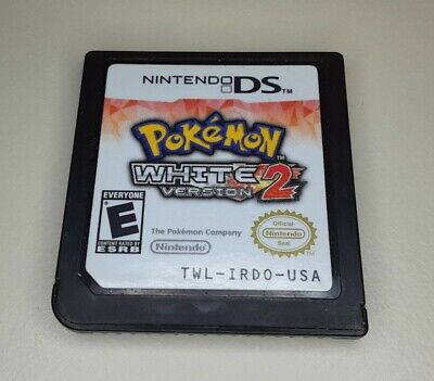 $109.99 • Buy Pokemon White Version 2 Nintendo DS Authentic *Game Cartridge Only* Adult Owned