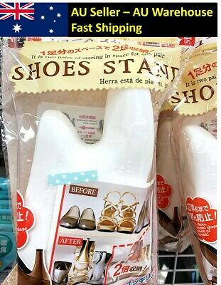 AU9.98 • Buy Shoe Stacker Stand Space Saving Storage Made In JAPAN Small Apartment Organiser