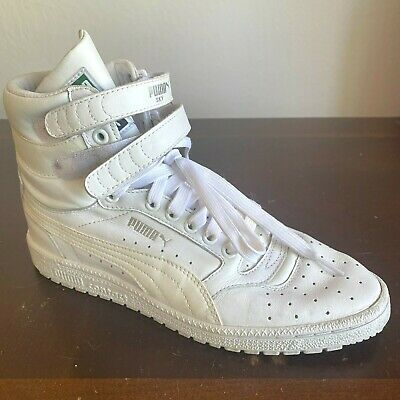 AU72.26 • Buy Puma Contact Sky-High Top Boots Size 8 White Sneaker Shoes Streetwear