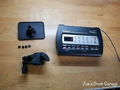 AU208.77 • Buy Roland TD-3 V-Drum Module W/Mount, Clamp, Manual, And Power Supply - AS75972