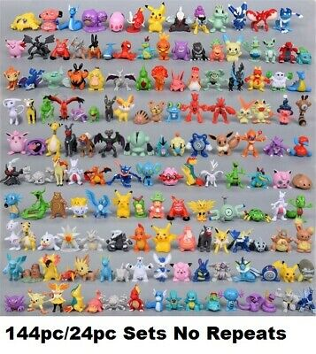 £7.92 • Buy 24 To144pc/Sets Kids Pockit Monsters Great Mix Pokemon Action Figures No Repeats
