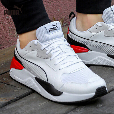 AU89.68 • Buy Puma X-Ray Game Men's Sneakers Shoes White-black-red 372849 01 NEW