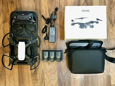 AU149 • Buy DJI Spark - Fly More Combo - Drone - Alpine White