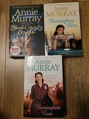 £4.75 • Buy ANNIE MURRAY ×3 Books Bundle Includes Black Country Orphan