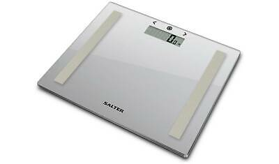 £14.99 • Buy Salter Compact Glass Body Analyser Scale - Silver