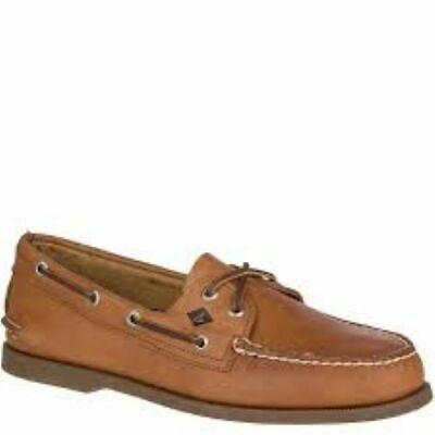£21.93 • Buy SPERRY Top Sider Original Boat Shoes Tan Leather Casual Men's Size 8 S