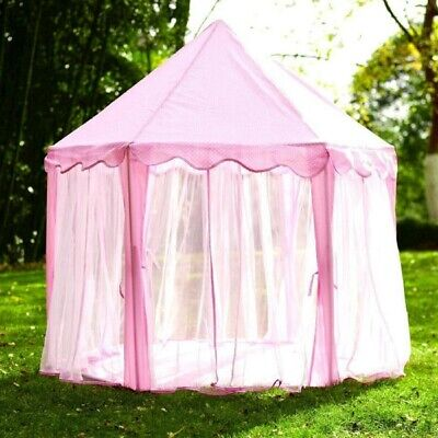 £24.59 • Buy Princess Tent For Girls, Kids Play Tents Fairy Castle Playhouse Wendy Hose Den