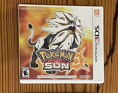 $20 • Buy Pokemon Sun 3DS Game Only