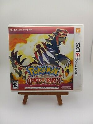 $32 • Buy Pokemon Omega Ruby (nintendo 3ds 2014) Game With Box Genuine Authentic No Manual