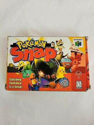 $109.92 • Buy Pokemon Snap Nintendo 64 N64 CIB Complete Tested Works Authentic