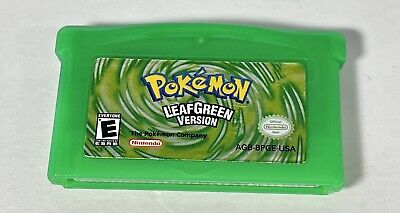 $89.99 • Buy Pokemon Leaf Green (Gameboy Advance, 2004) GBA | Tested & Works | Authentic