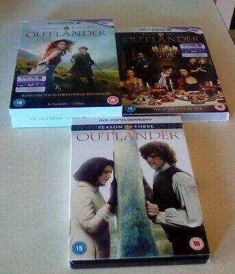 AU28.29 • Buy Outlander Series One Two And Three DVD