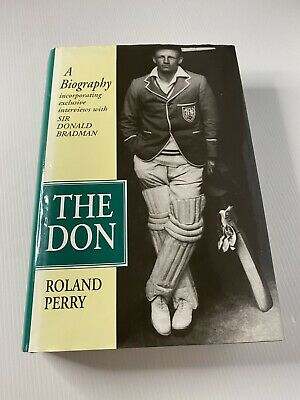 AU29.50 • Buy The Don, A Biography Sir Donald Bradman By Roland Perry. Hardcover. Free Postage