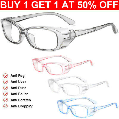 £5.59 • Buy Safety Goggle Glasses Clear Uv Protection Anti-scratch Safety Glasse For Women