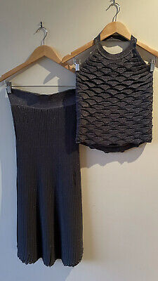 AU360 • Buy Scanlan Theodore Crepe Knit Top And Skirt