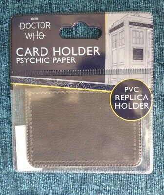£9.99 • Buy Doctor Who Psychic Paper Card Holder