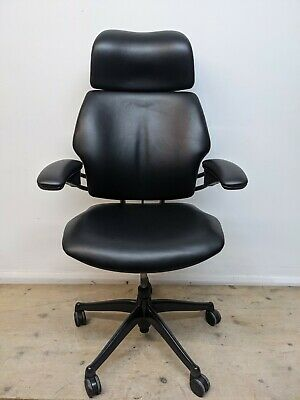 £575 • Buy Humanscale Freedom Chair Newly Upholstered   HighBack/Headrest Free Delivery