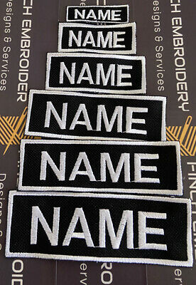 £4.99 • Buy Custom Personalised Morale Patch Name Tape Official VELCRO® Backing Cordura