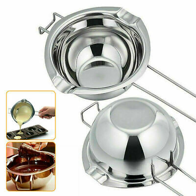 £7.99 • Buy UK Stainless Steel Wax Melting Pot Double Boiler Fits DIY Wedding Scented Candle