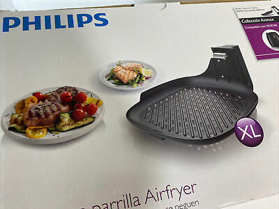 AU73.22 • Buy NEW Philips HD9911/90 Avance Collection XL Airfryer Grill Pan Accessory Black