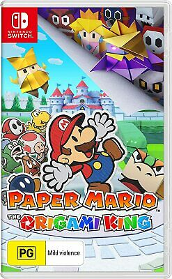 AU39.95 • Buy BRAND NEW Paper Mario : The Origami King (Nintendo Switch, 2020) NSW Game
