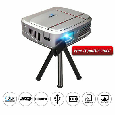 £217.10 • Buy 3300lms Wifi Pico Size 3D DLP Projector 1080p Airplay For IPhone Movie Party UK
